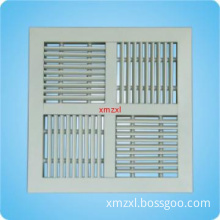 Ceiling Air Diffuser 4-Way/square ceiling diffuser/linear diffuser