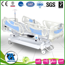 Luxurious five function safe lock medline full electric hospital bed
