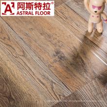 Registrado textura de madeira real laminado (AY7011)