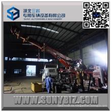 Cuerpo superior del camión de auxilio del rotor de desplazamiento resistente de 50 toneladas