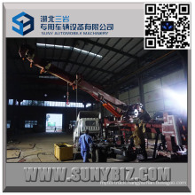 50 Ton Heavy Duty Sliding Rotator Wrecker Upper Body