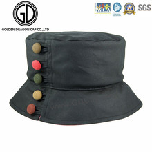 Comfortable Colorful Button New Style Cap Bucket Hat