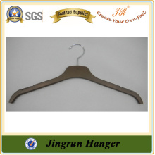 2015 New Popular Shirt Hanger Fashion Laminated Hanger in Plastic