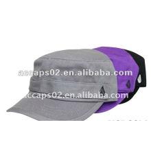 brown distressed army cap AC-w263