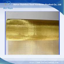 Metall Mesh Stoff / Golden Ring Mesh Vorhänge / RFID Schutz Stoff