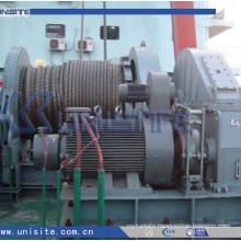 Marine hydraulic combined ship anchor windlass (USC-11-016)