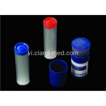 Micro Hematocrite mao mạch ống Blue / Red Tube