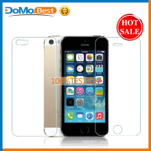 Domobest Most Popular 9H Super Clear Tempered Glass Screen Protector for Iphone 5g/5c/5s