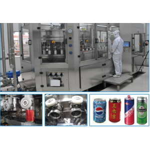 Complete Can Filling Line