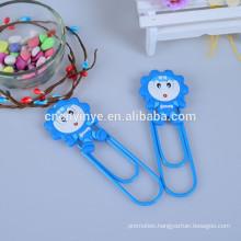 pvc rubber cute paper clip holder