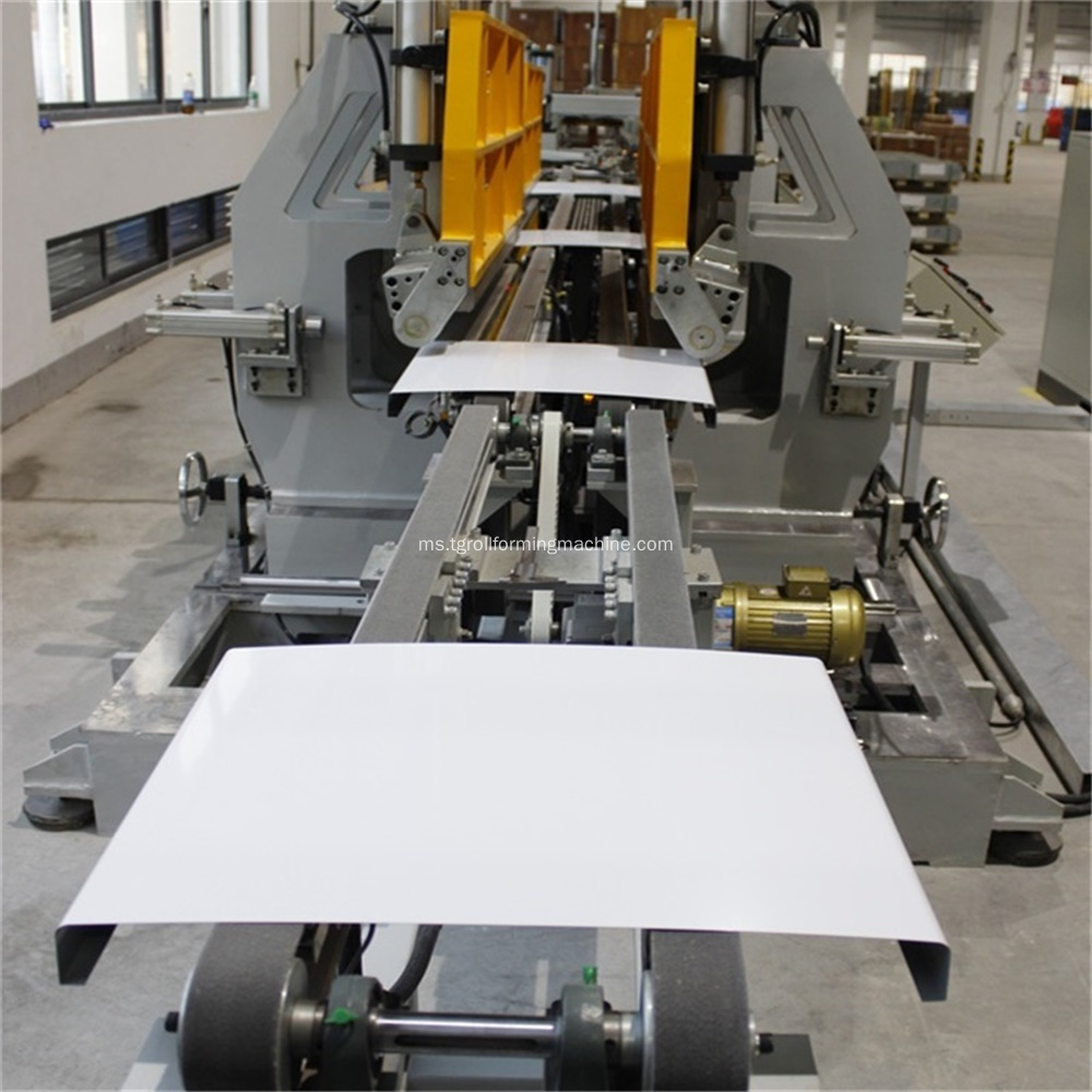 Mesin Refrigerator Sheet Metal Sheet Roll Forming Machinery