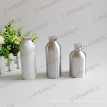 White Aluminum Powder Bottle with Aluminum Sifter Top