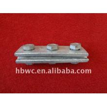 accesorios de construcción de estructura de acero, férulas dobles de alta calidad