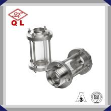 Sanitary Stainless Steel Threaded Sight Glass