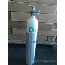 DOT Standard Aluminium Oxygen Gas Cylinders