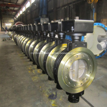 Cast Steel Double Eccentric Butterfly Valve