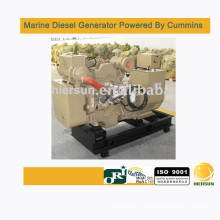 Powered by Cummins 140kw/175kva marine diesel generators