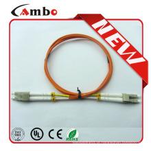 Promocional novo LC-LC Fibra óptica Patch Cord / Jumper cabos Fabricante
