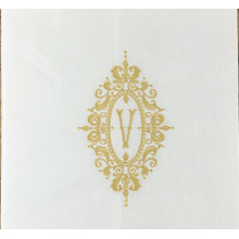 Dinner Napkins White Linen handkerchief embroidery
