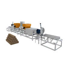 wood plastic pallets making machine line