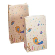 Birthday Lovely Bird Kraft Paper Bags
