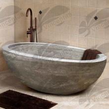 2018 Popular Design carrara Marble Bath com ótimo preço