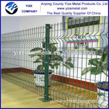 Wire mesh garden fence/green plastic coated wire fencing/coated border green garden wire mesh fence professional manufacture