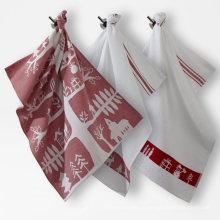 высокое качество Рождественский Снеговик дом кухонное полотенце ТТ-041