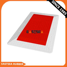 New Products Road Safety Black Or Red Rubber Speed Cushion