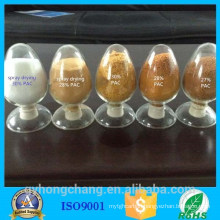 raw material Chloride Polyaluminium For river water