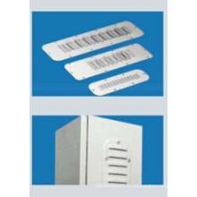 Plaques à lamelles en tôle d'acier (plaque de ventilation) pour armoire