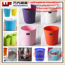 quality chinese products plastic injection Garbage Basket mold/OEM plastic injection mold for Garbage Basket
