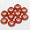 Hobbycarbon M3 aluminium couleur CNC Rondelle fraisée sur mesure