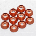 Hobbycarbon M3 aluminum color CNC Custom made countersunk washer