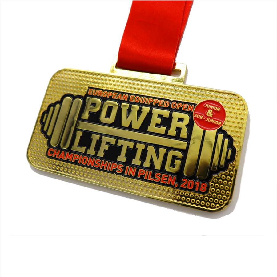 Bodybuilding Competition Medals