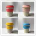 Eco Friendly Bamboo Fibre Travelling Coffee Mugs