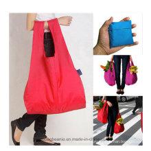 Полиэфир большой прочный дешево ежедневного использования складывая хозяйственная сумка