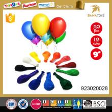 Balão de borracha inflável de 9 polegadas