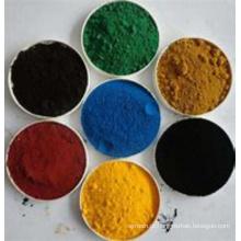 Pigmento de óxido de ferro sintético