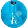 Nouveau tuyau d'eau à fumer en verre