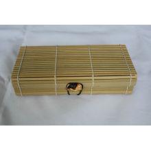 Cadeaux Boîte en bambou naturelle exportée vers le Japon et la France