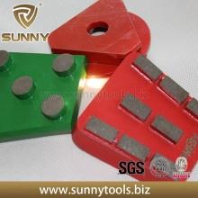 Placas de molienda de piso de diamante de Sunny Brand (SYYH-077)