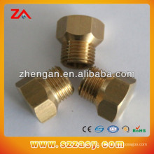 Customized non-standard fasteners brass hex bolt