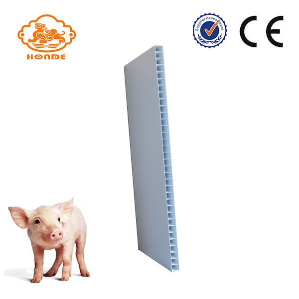 Hard Hollow Pig Farm Används PVC Panel