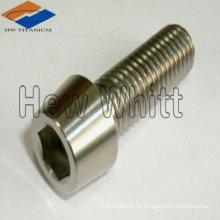 perno de cabeza cónica de titanio DIN933