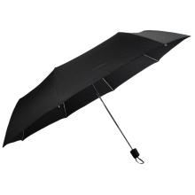 Grande taille 3 poignée de couverture en plastique de golf pliante parapluie ouvert manuel