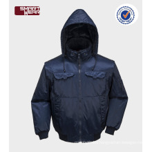 Customized mens OEM winter bomber jacket safety workwear jacket