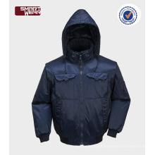 Personalizado mens OEM inverno bombardeiro jaqueta de segurança workwear jaqueta