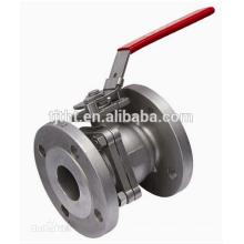 Fluorine Lined ball valve flange