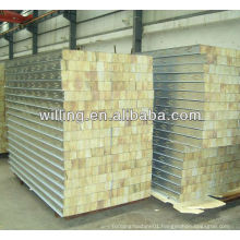 high quality rock wool sandwich wall panel